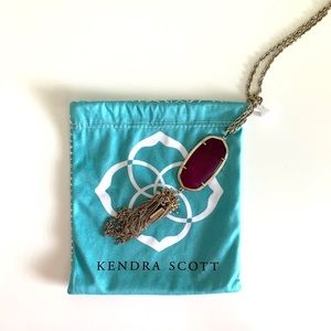 Kendra Scott Purple Necklace